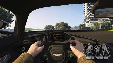 GTA 5 Aston Martin Vulcan v1.0 voltar vista