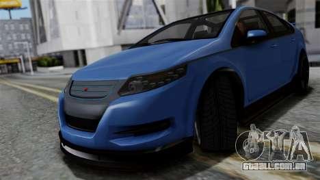 GTA 5 Cheval Surge para GTA San Andreas traseira esquerda vista