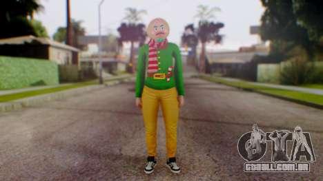 GTA Online Festive Surprise Skin 1 para GTA San Andreas segunda tela