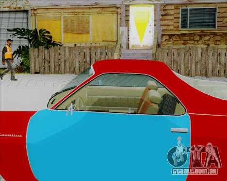 Chevrolet El Camino My Name is Earl v1.0 para GTA San Andreas traseira esquerda vista