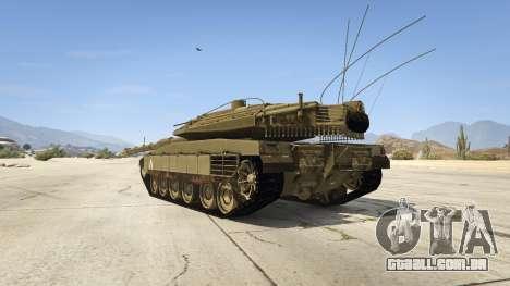 Merkava IV para GTA 5