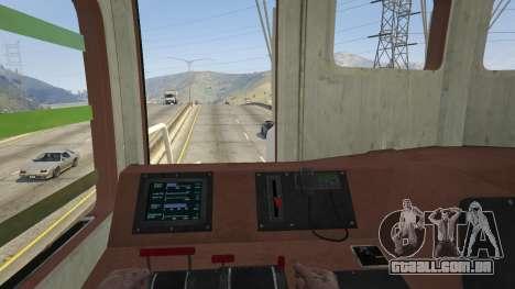 GTA 5 Monster Train voltar vista