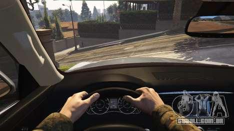 GTA 5 Infiniti QX56 traseira direita vista lateral