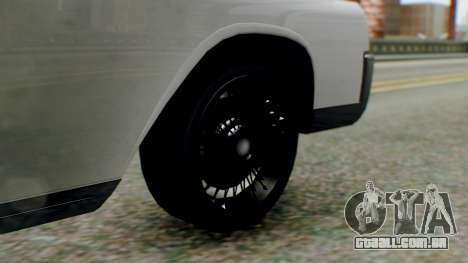 GTA 5 Vapid Chino Tunable IVF PJ para GTA San Andreas traseira esquerda vista