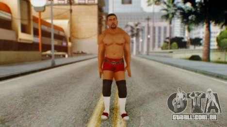 David Otunga para GTA San Andreas segunda tela