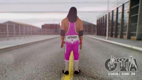 Bret Hart 1 para GTA San Andreas terceira tela