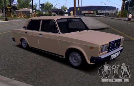 VAZ 2107 KBR para GTA San Andreas