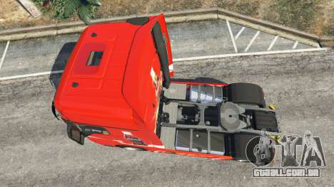 GTA 5 Mercedes-Benz Actros Euro 6 [Coca-Cola] voltar vista