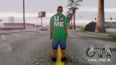 John Cena para GTA San Andreas terceira tela