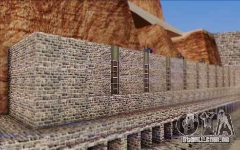 Nova barragem para GTA San Andreas terceira tela