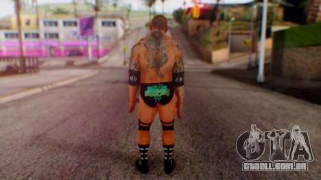 WWE Batista para GTA San Andreas terceira tela