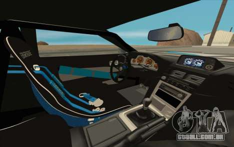 Elegy DRIFT KING GT-1 [2.0] (New wheels) para GTA San Andreas interior