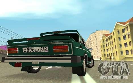 VAZ 2103 Sport tuning para GTA San Andreas traseira esquerda vista