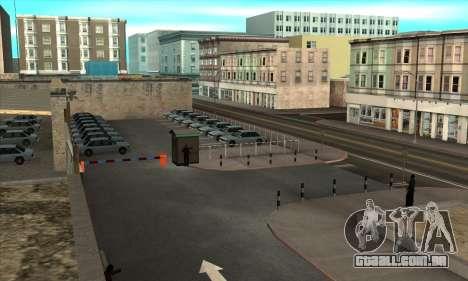 Renovação de escolas de condução em San Fierro para GTA San Andreas segunda tela