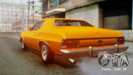 Ford Gran Torino 1974 para GTA San Andreas vista direita