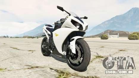 Yamaha YZF-R1 2014 para GTA 5
