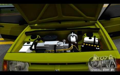 Lada Samara para vista lateral GTA San Andreas
