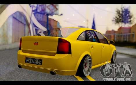 Opel Vectra Special para GTA San Andreas esquerda vista