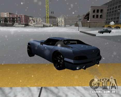Novo Banshee com telhado para GTA San Andreas esquerda vista