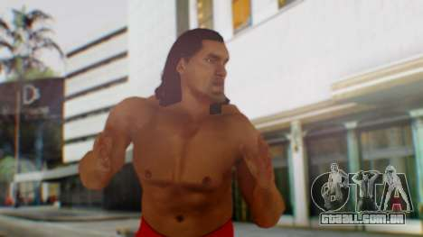 The Great Khali para GTA San Andreas