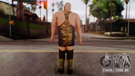 WWE Big Show para GTA San Andreas terceira tela