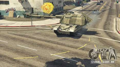 2S19 Msta-s para GTA 5