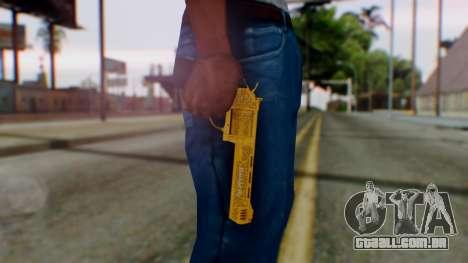 GTA 5 VIP Revolver para GTA San Andreas terceira tela