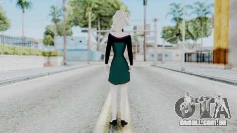 Elsa Regular Skirt Dress para GTA San Andreas terceira tela