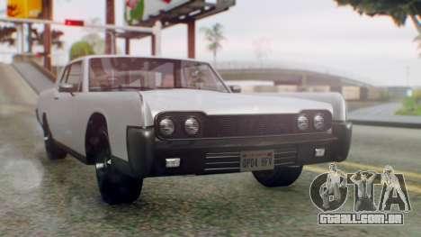 GTA 5 Vapid Chino Tunable IVF PJ para GTA San Andreas