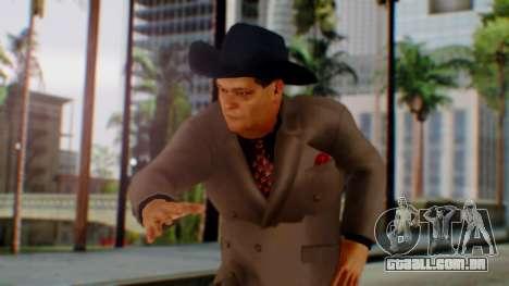 WWE Jim Ross para GTA San Andreas