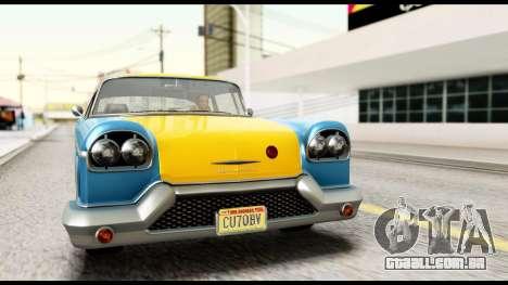 GTA 5 Declasse Cabbie v2 IVF para GTA San Andreas vista direita