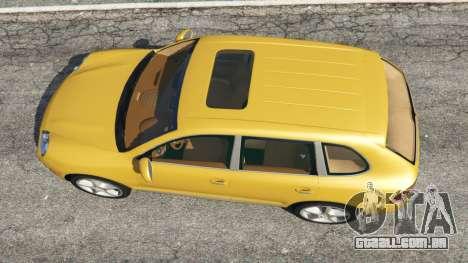 GTA 5 Porsche Cayenne Turbo 2003 voltar vista