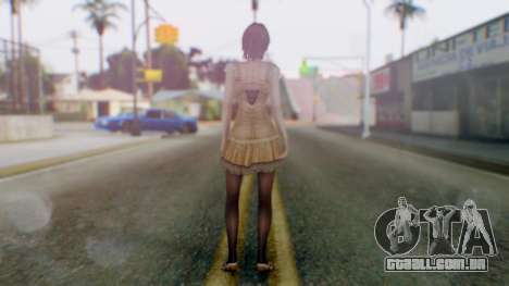 Fatal Frame 4 Ruka para GTA San Andreas terceira tela