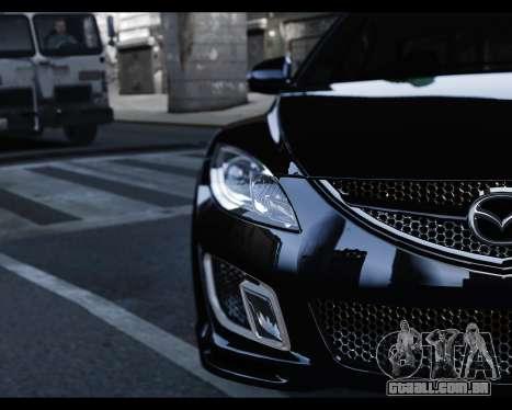 Mazda 6 Sport para GTA 4 vista direita