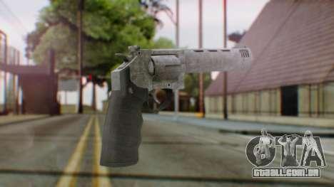 GTA 5 Platinum Revolver para GTA San Andreas segunda tela