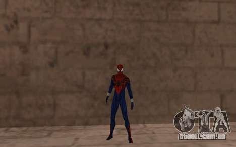 O sensacional Homem-Aranha, Ben Reilly por Robin para GTA San Andreas terceira tela