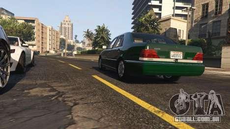 GTA 5 Mercedes-Benz S600 v1.1 voltar vista