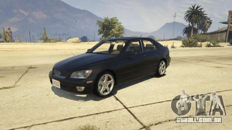 Lexus IS300 Tunable 1.0 para GTA 5