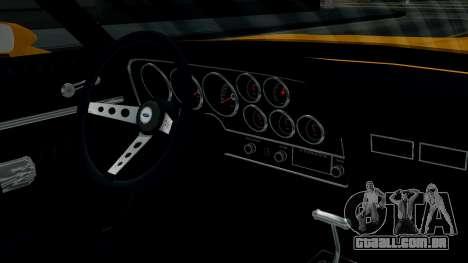 Ford Gran Torino 1974 para GTA San Andreas vista interior