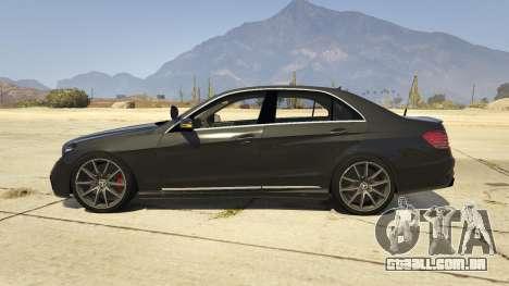 Mercedes-Benz E63 AMG Unmarked Cruiser para GTA 5