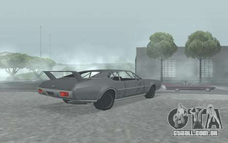 Clover Stock Car para GTA San Andreas esquerda vista