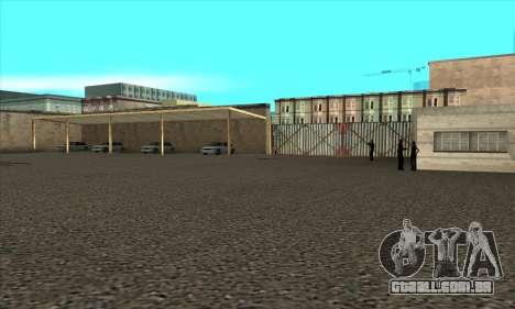 Renovação de escolas de condução em San Fierro para GTA San Andreas por diante tela