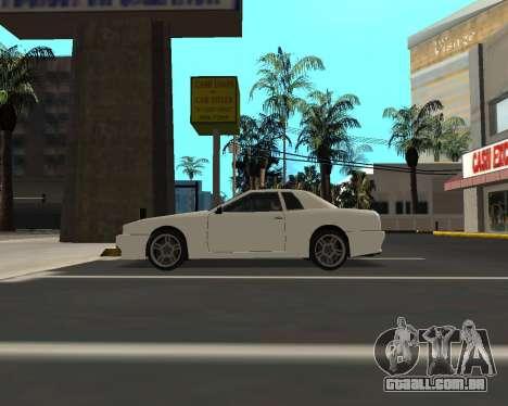 Elegy C35 para GTA San Andreas vista direita