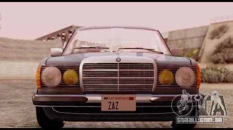 Mercedes-Benz 450SEL para GTA San Andreas vista direita