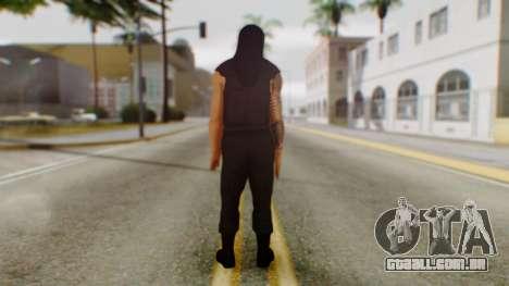 Roman Reigns para GTA San Andreas terceira tela