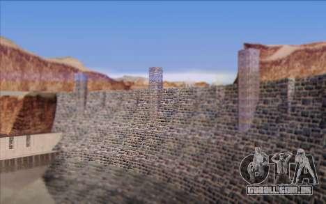 Nova barragem para GTA San Andreas sexta tela