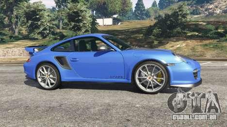 GTA 5 Porsche 997 GT2 RS vista lateral esquerda