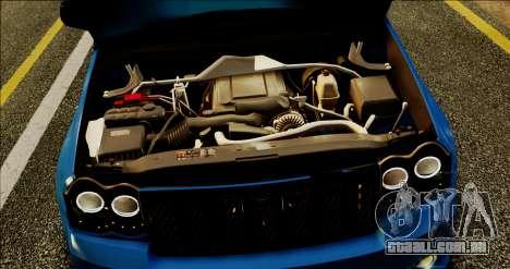 Jeep Grand Cherokee SRT8 Final version para GTA San Andreas vista interior