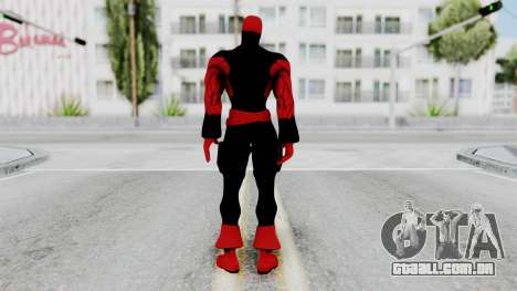 Spider-Man Shattered Dimensions - Deadpool para GTA San Andreas terceira tela