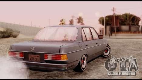 Mercedes-Benz 450SEL para GTA San Andreas esquerda vista